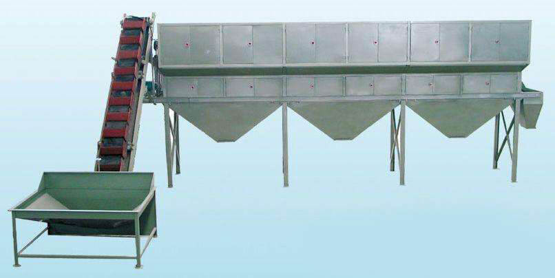 commercial peanut grading machine