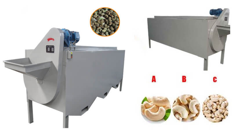 hot sale raw cashew nut grading machine