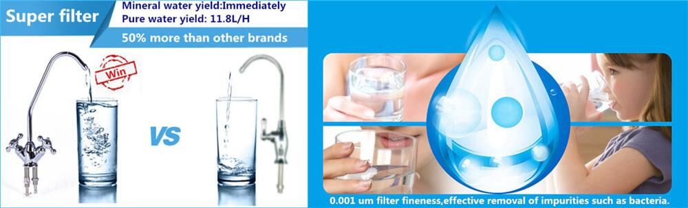 pure water vending machine advantages