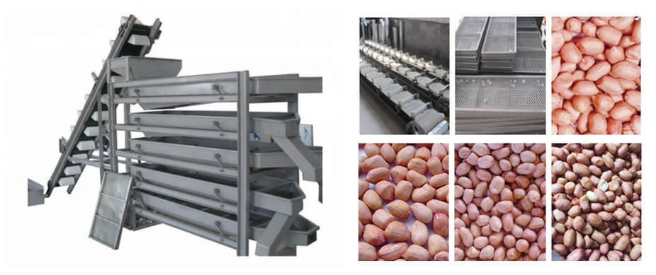 3-4-5 levels peanut sorter machine