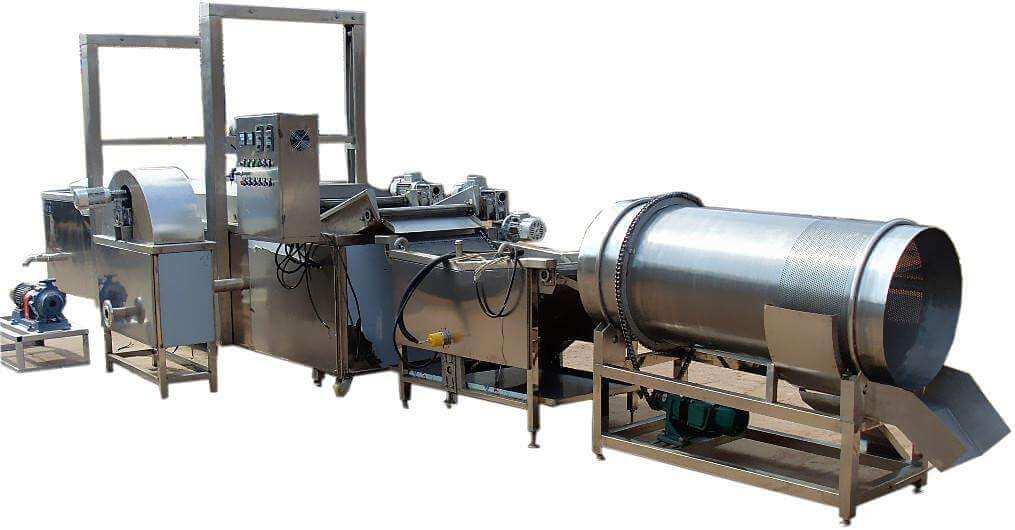 Automatic Potato Chips Making Line