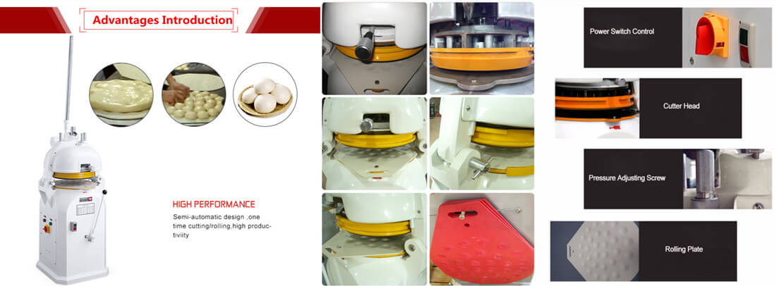 Dough Divider Rounder Advantages