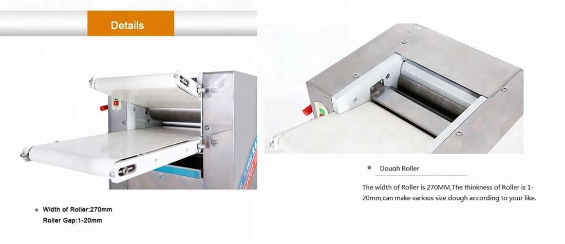 Dough Roller Machine Details