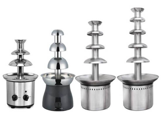 Electric Chocolate Fountain Machine