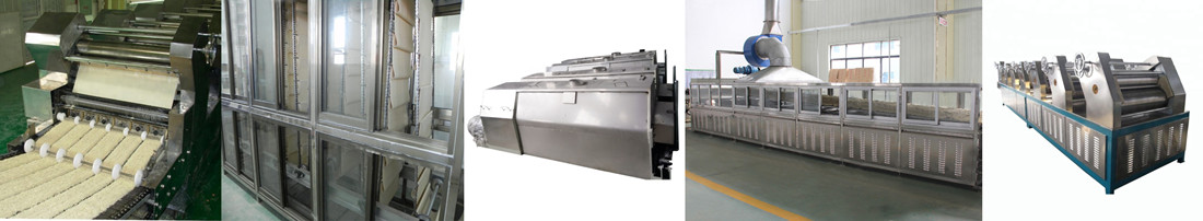 Fried Instant Noodle Production Line Equipment Composition