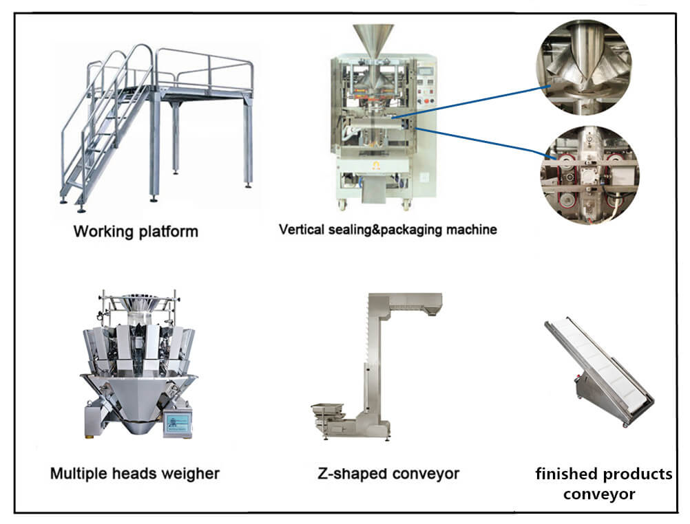 Full Automatic Nut Snacks Packaging Machine