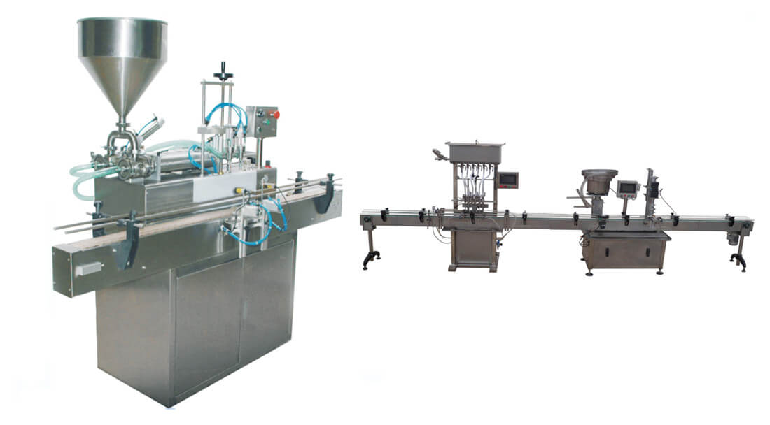 Full-automatic Filling and Capping Machine