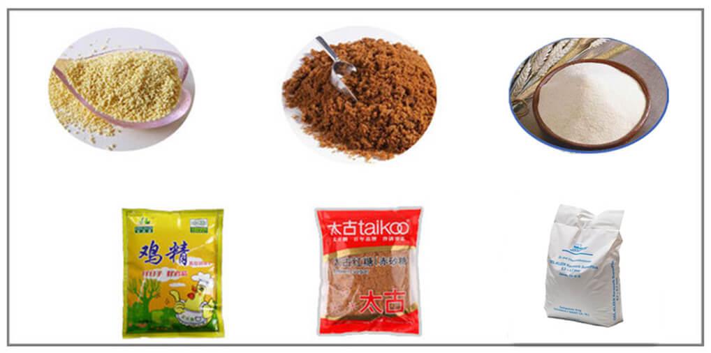 Granule Food Bagging Unit Application