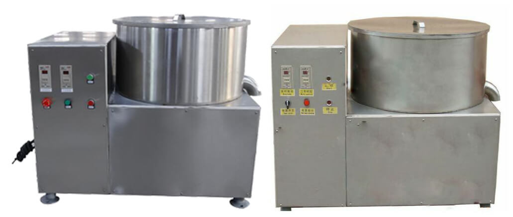 Home Use 304 Stainless Steel Potato Chips Centrifugal Dewatering Machine