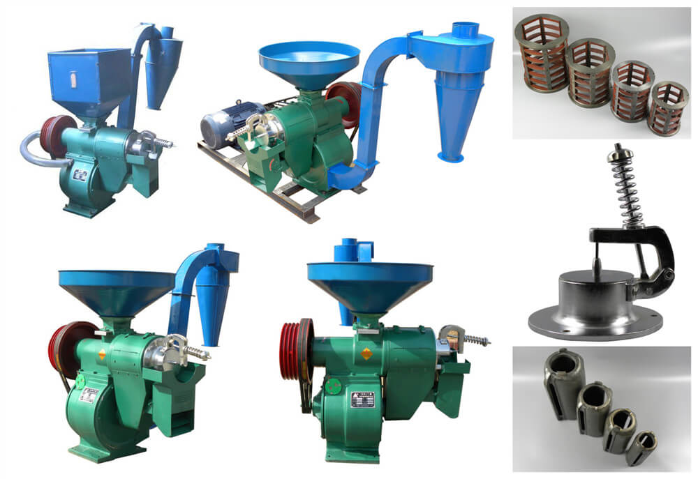 Multifunctional Grain Huller Machine