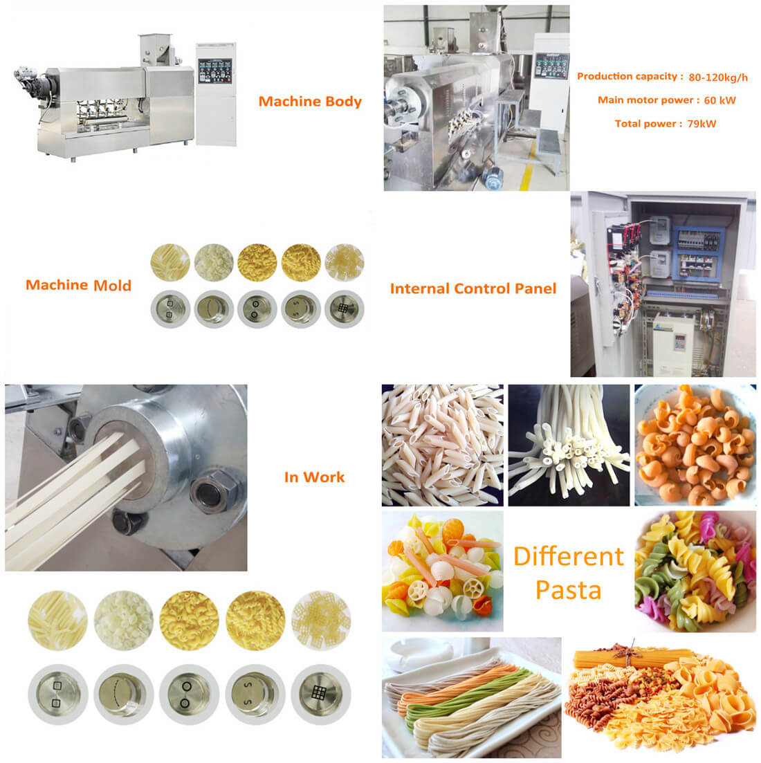 Relevant Advantages for Pasta Making Line
