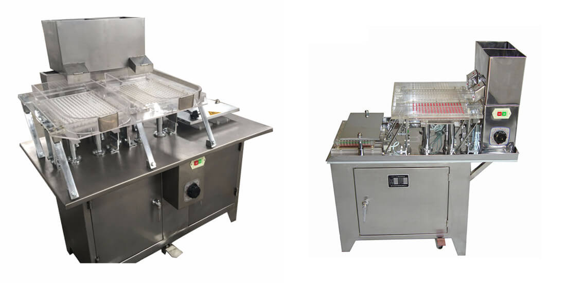Semi Automatic Small Capsule Filling Machine