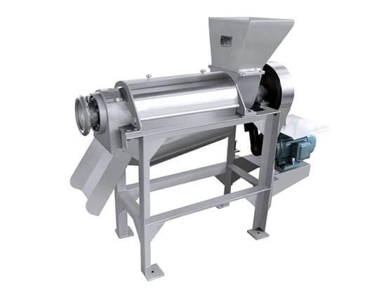Spiral type industrial juicer machine