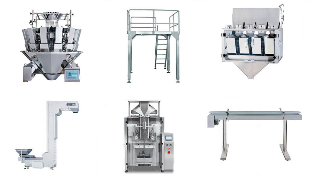 Technical Parameters of Full Automatic Food Packing Unit Part