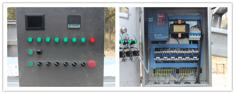 The automatic control system,it can control all the line.