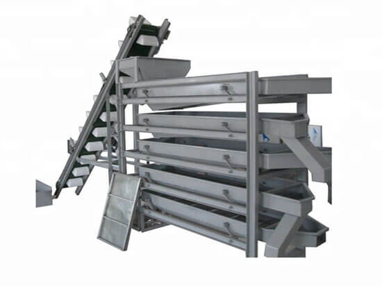 almond kernel grading machine