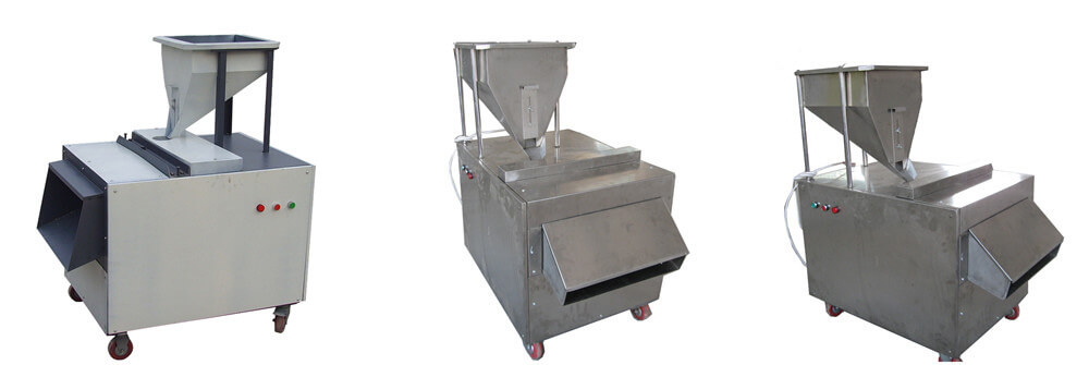 almond peanut slicing cutter machine