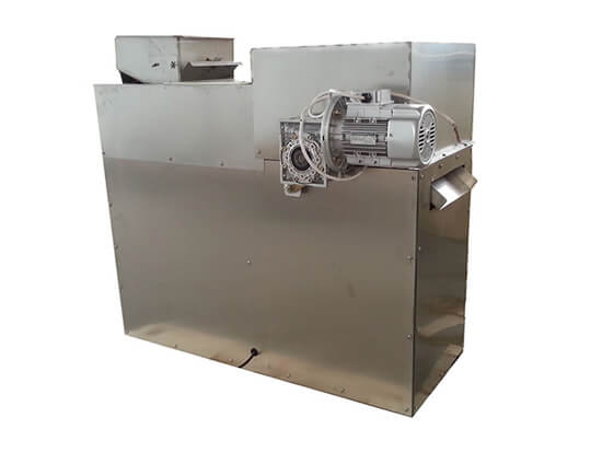 almond peanut strip cutting machine