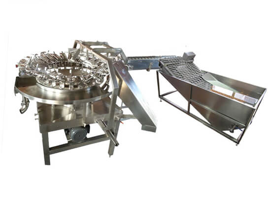 automatic egg breaking machine for liquid egg