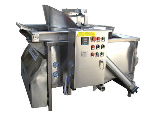automatic nut frying machine