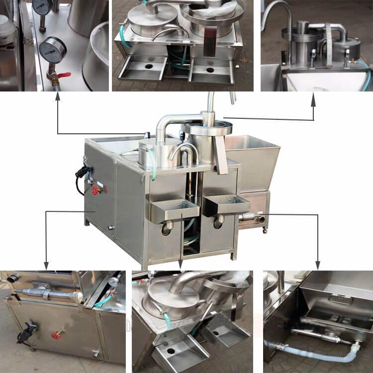automatic rice washing machine structure