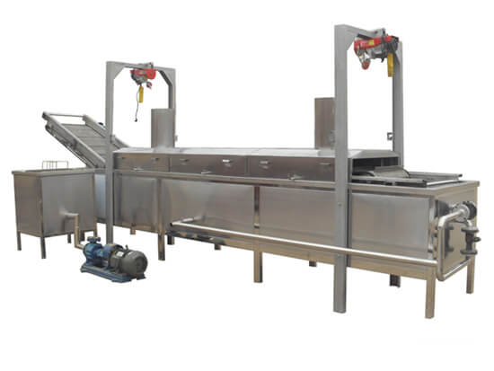 belt fryer automatic continous