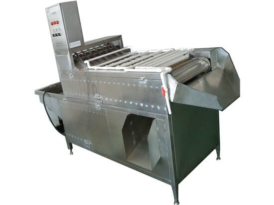 boiled egg peeling machine