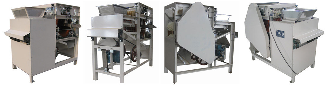 broad bean slitting machine