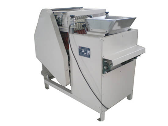 broad beans cutting machine