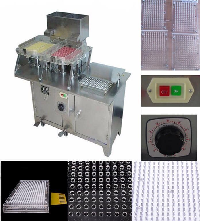 capsule filling machine features