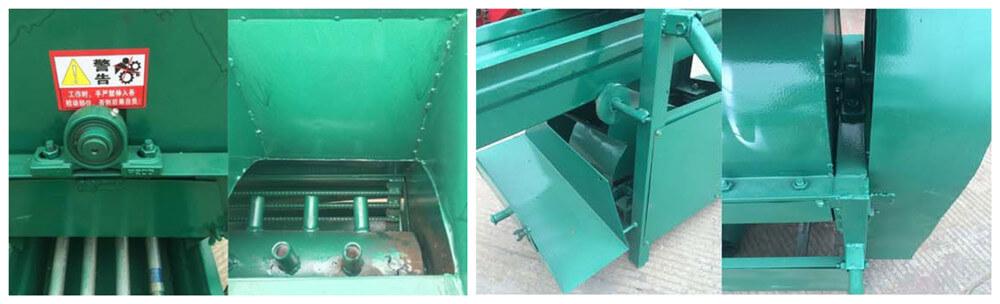 chestnut shelling machine structure details