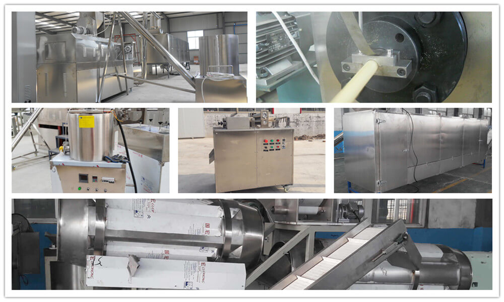 core filled snacks production machines