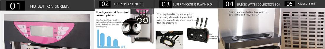 ice cream machines features