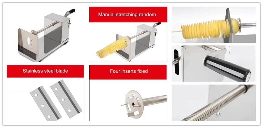 detailed features of Tornado Potato Machine