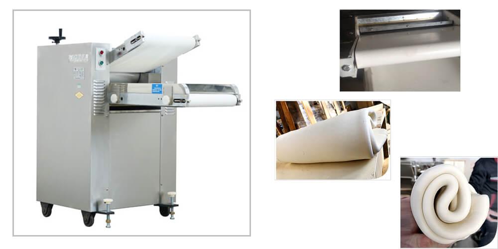 dough sheeter presser machine