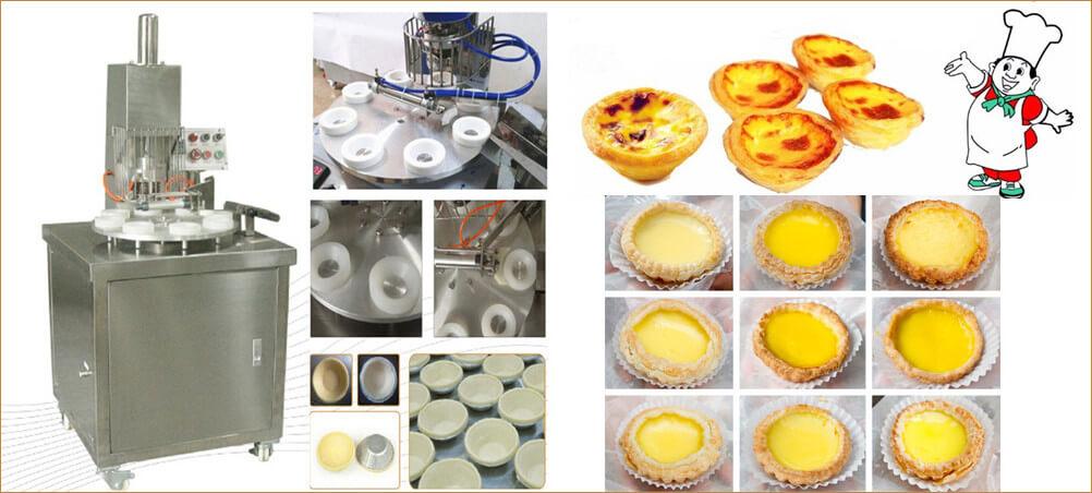 egg tart skin molding machine