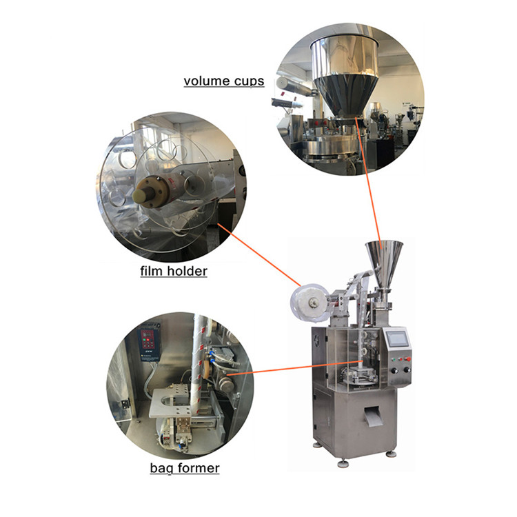 excellent quality triangle tea bag packing machine features