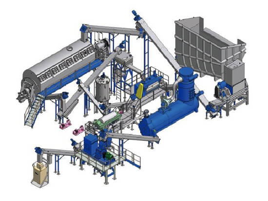 fish meal production plant