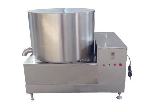 fried food deoiler machine
