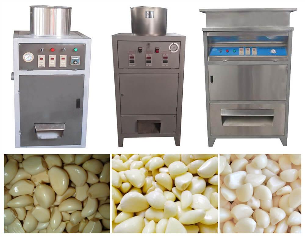 garlic peeling machines