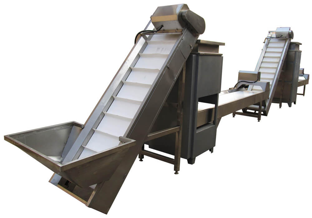 garlic separating peeling machine unit