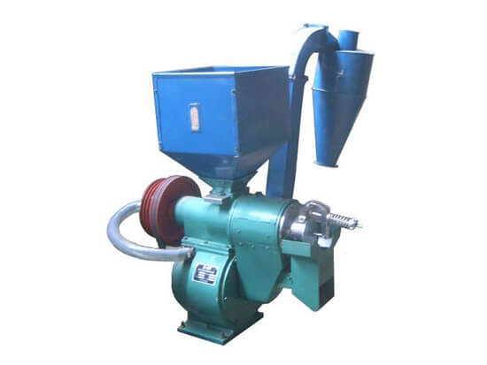 grain huller machine
