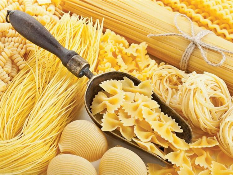 healthy food pasta