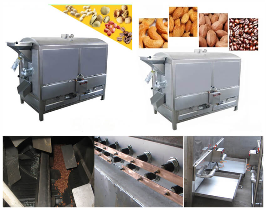high quality nut roasting oven