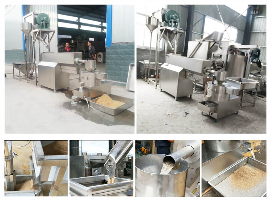 how does sesame seed cleaning machine work