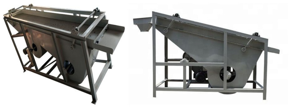 kernel shell separating machines