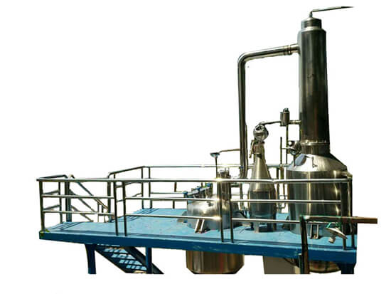 large essential oil extraction equipment