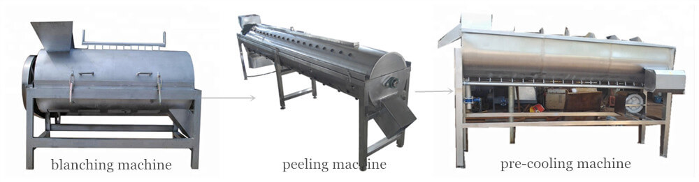 main peeled chicken paw making machines