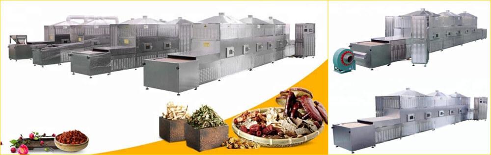 microwave ripening machine