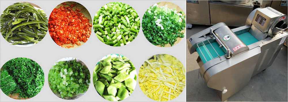 multifunctional vegetable cutter machine application